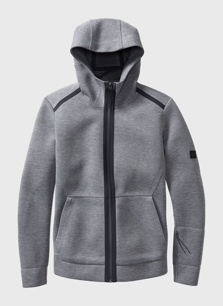 Neo Hoody (Grey) | ISAORA / REMOVE OUTSIDE POCKETS