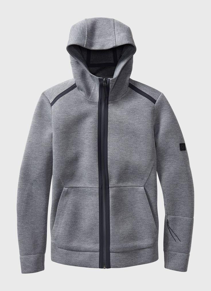 Neo Hoody (Grey) | ISAORA / REMOVE OUTSIDE POCKETS