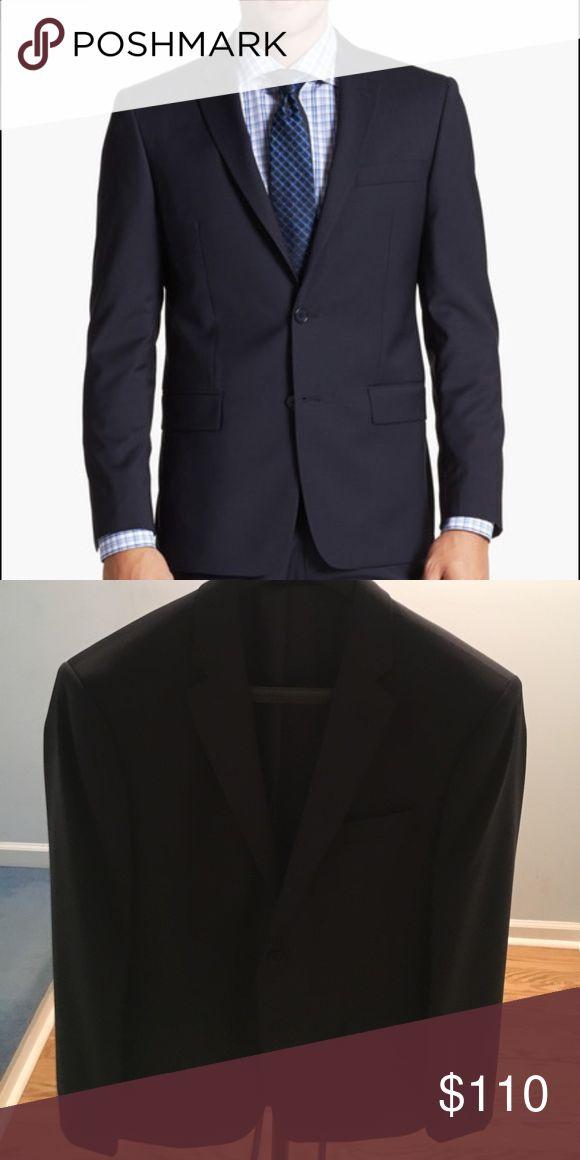 John Varvatos Slim Fit Suit Jacket Navy - Two Button - Notch Lapel - Wool - Size 42 R (Brand new never worn/perfect condition) John Varvatos Suits & Blazers Sport Coats & Blazers