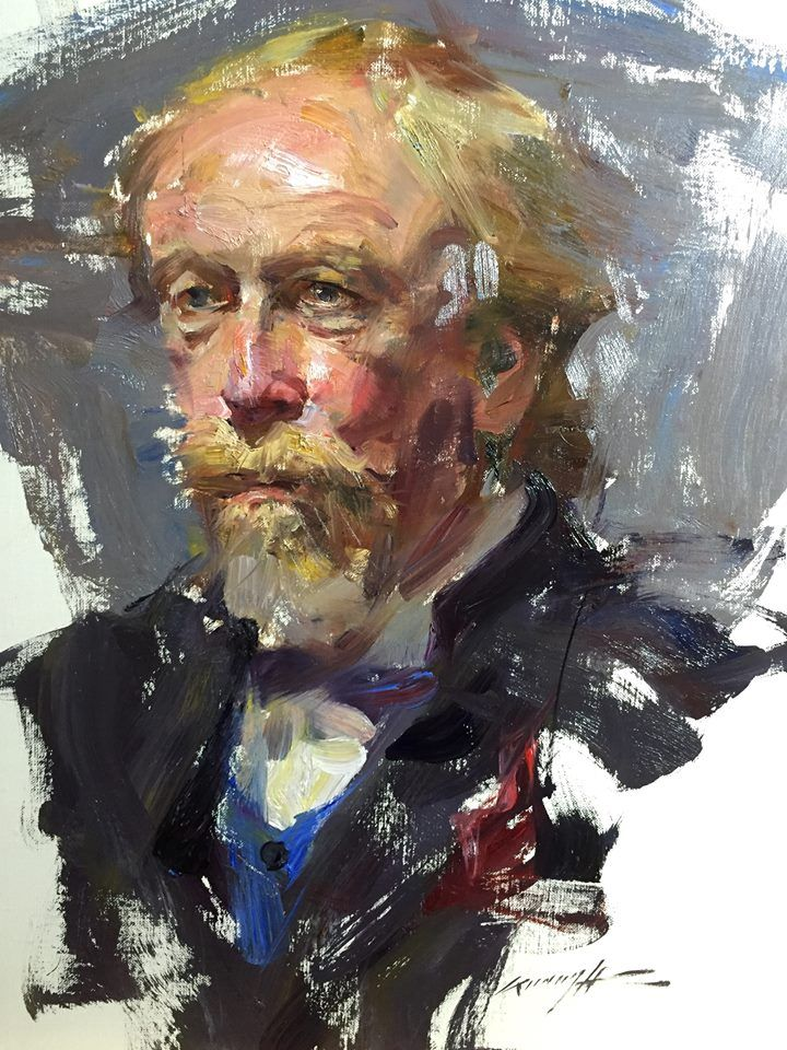 343 best images about male portraits living artists for Americas best paint