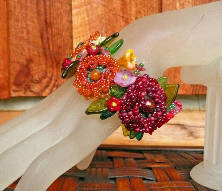 Sunshine and Roses - Jewelry creation by Madalynne Homme