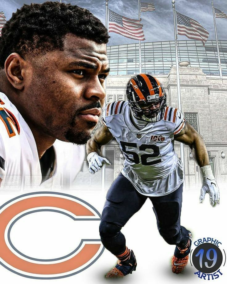 Khalil Mack Bears In 2020 Chicago Bears 1985 Chicago Bears Chicago Bears Football