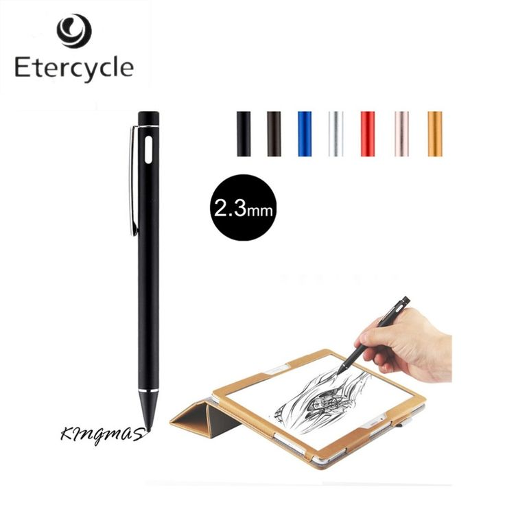 14.67$  Buy here - http://alixh1.shopchina.info/1/go.php?t=32766997211 - High-precision 2.3mm Active Chargeable Capacitive Touch Pen Stylus for iOS Android Microsoft Tablets PAD touch screen devices 14.67$ #magazine