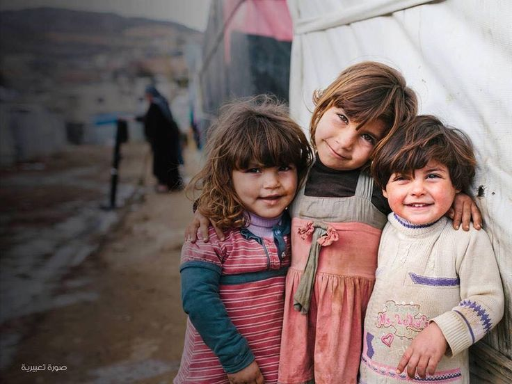 Smiling regardless all the unusal circumstances they live, but are they aware of that? Yes they do, when it is raining, snowing, not enough food there .. no games .. no schools!