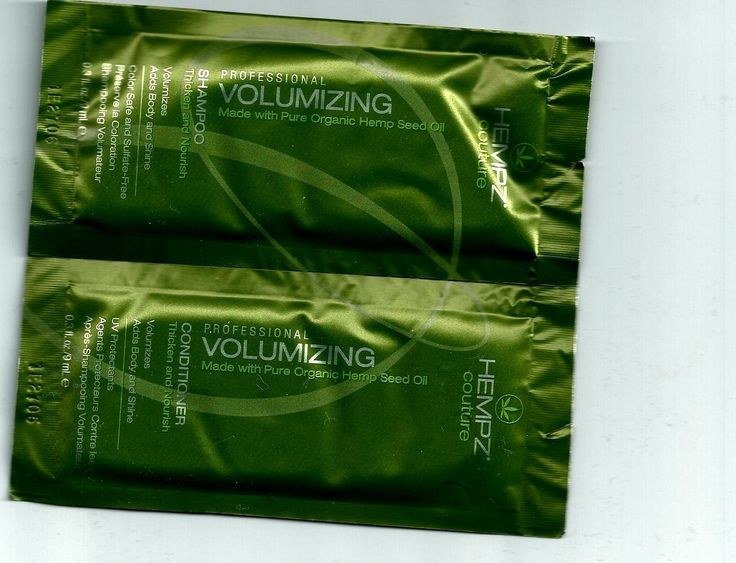 5 Packettes of Each Hempz Couture Volumizing Shampoo and Conditioner * To view further for this item, visit the image link.