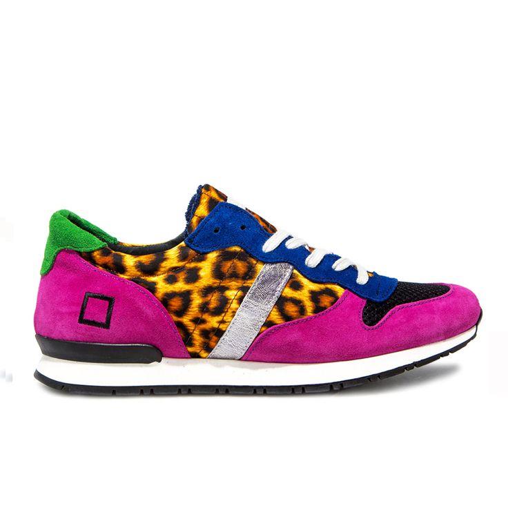 Spring Summer 2015 D.A.T.E. Sneakers Collection / Italian design/ Boston Fantasy Leopard:http://bit.ly/1JLabkx