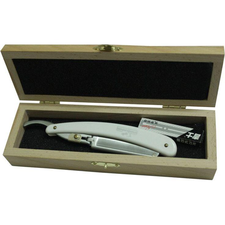 1 Razor + 1 Travel Box + 10 pcs Blades Men Shaver Set