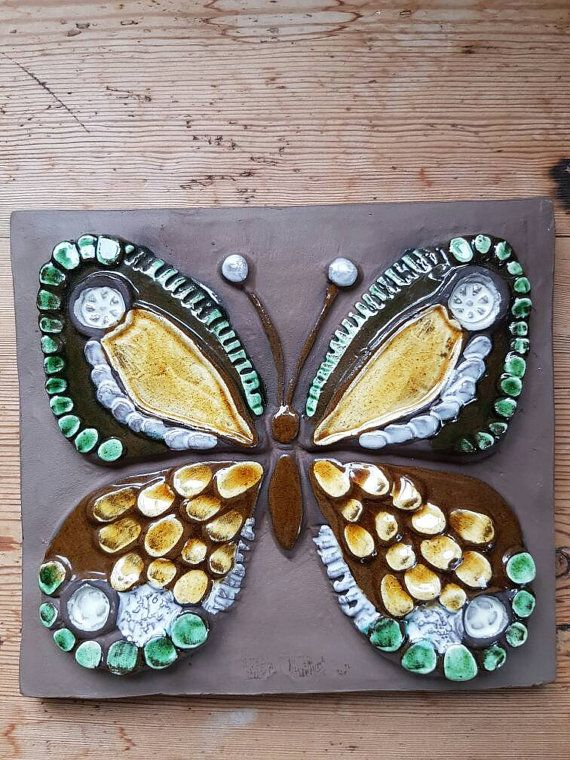 Check out this item in my Etsy shop https://www.etsy.com/se-en/listing/451761916/wonderful-butterfly-wall-plaque-in