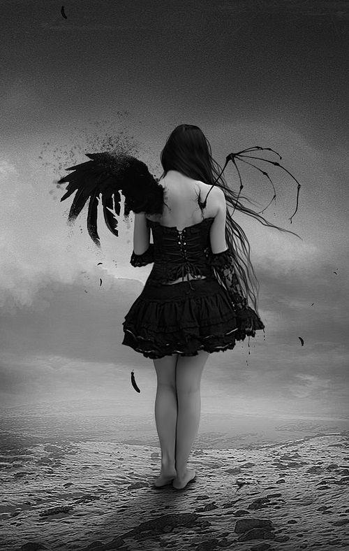 An angel denied to go home.
