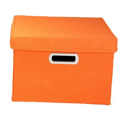 Found it at Wayfair - Wayfair Basics Storage Box with Lid