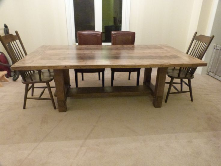 Innovation Interiors: Reclaimed Wood Tables