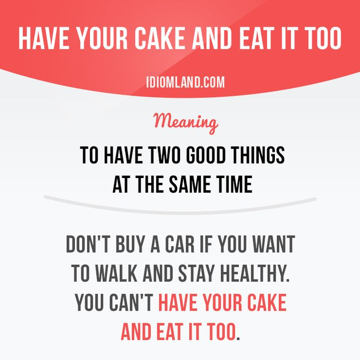 How many cakes did you eat lately? :) #idiom #idioms #english #learnenglish #cake