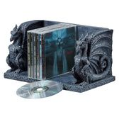 Gothic Castle Dragons Sculptural Bookends - CL55773 - Design Toscano