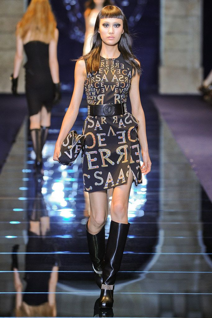 chrome hearts beast Versace Fall 2012 Ready to Wear Collection Photos   Vogue