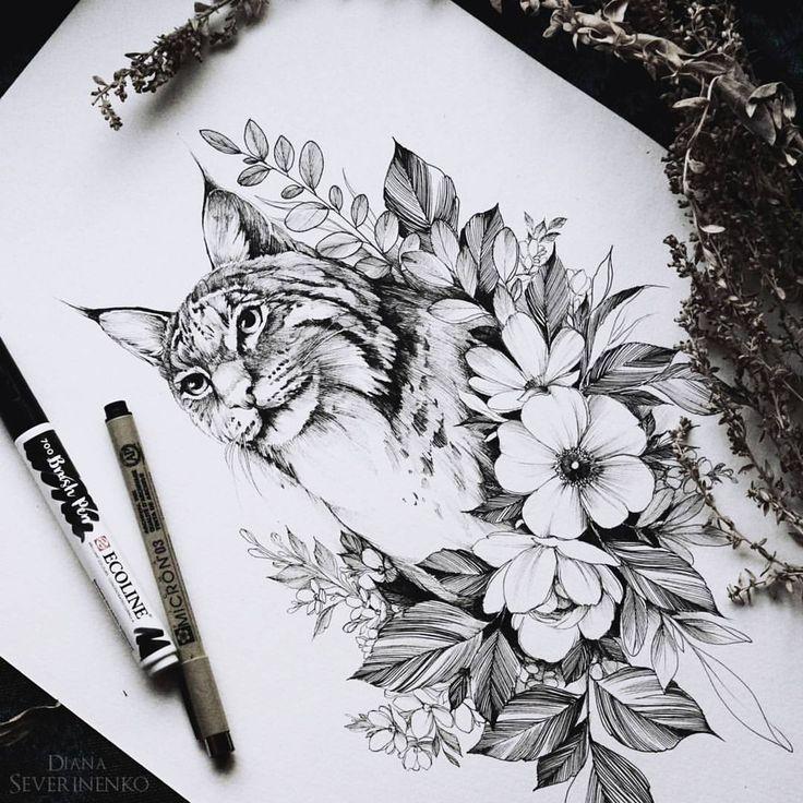 8,027 отметок «Нравится», 51 комментариев — •Diana Severinenko (@dianaseverinenko) в Instagram: «#lynx #sketch #artmagazine #artwork #artgalery #worldofartists #art_spotlight #sketch_daily…»
