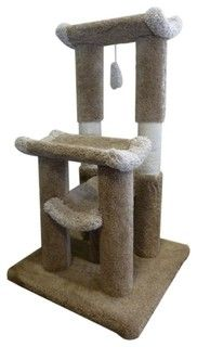 "45"" Kitty Cat Jungle Gym - traditional - pet care - by Majestic Pet Products"