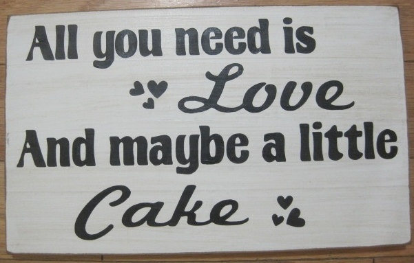 says the cake lady :)