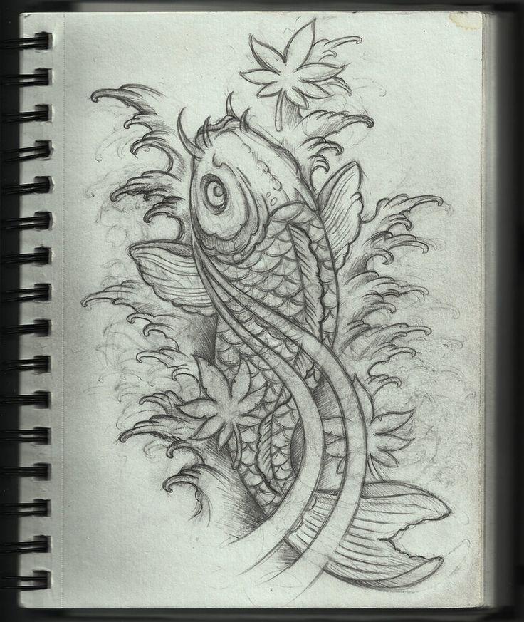 Koi Tattoo Design by ~Frosttattoo on deviantART