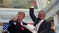 Trump Faces a Fight over Downsizing National Monuments  President Trump is flouting the law to shrink the Bears Ears National Monument and Grand Staircase-Escalante National Monument in Utah to open up drilling, mining, and fracking, but indigenous and environmental groups are pushing back