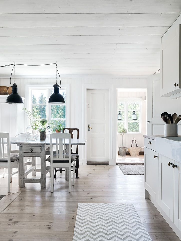A BEAUTIFUL RENOVATED SWEDISH HOME FROM 1800   THE STYLE FILES