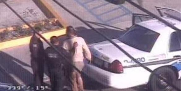 Caen Roba autos con apoyo de cámaras de monitoreo