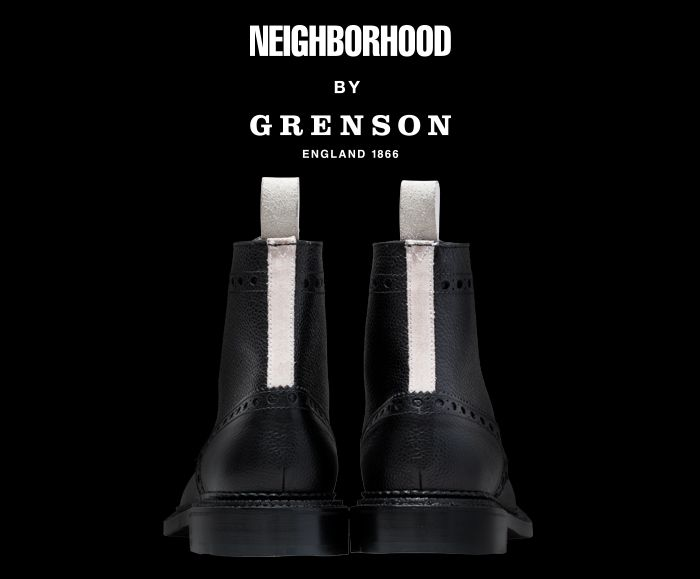 Shop the full collection here: http://www.grenson.com/uk/projects/neighborhood-by-grenson.html