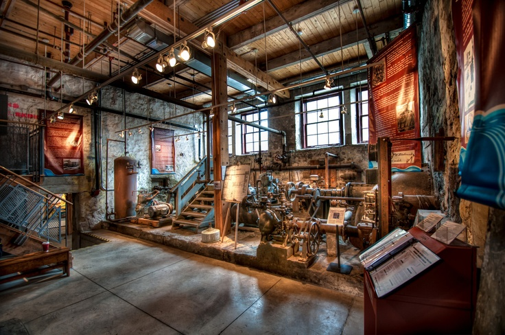 Interior HDR - Alton Mill Machine room.  Alton, Ontario  Copyright Jeff E, Smith