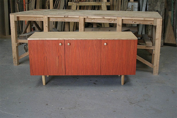 Vintage Sideboard Drinks Cabinet Retro Oak Sideboard Tv Unit Storage Cabinet Orange Vintage