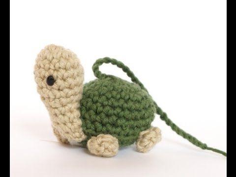 Tutorial Mini Tortuga Amigurumi Paso A Paso en Español ☂ᙓᖇᗴᔕᗩ ᖇᙓᔕ☂ᙓᘐᘎᓮ http://www.pinterest.com/teretegui