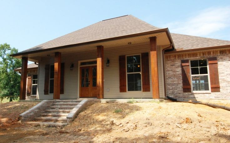 72 best house plans images on pinterest architecture for Cypress porch columns