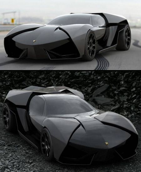 Lamborghini Ankonian Concept  Slavche Tanevsky has designed a more aggressive version of the famous Lamborghini Reventon....absolute drool