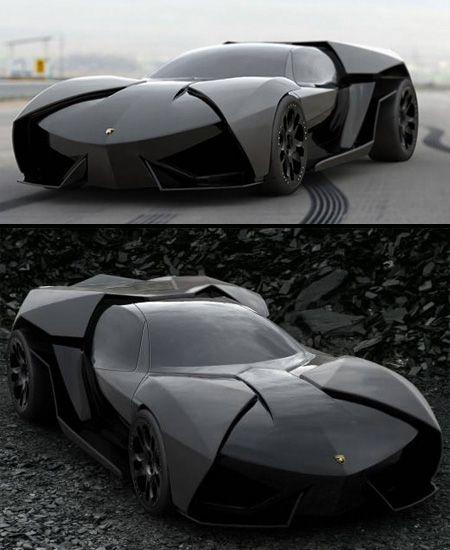 Lamborghini Ankonian Concept  Slavche Tanevsky has designed a more aggressive version of the famous Lamborghini Reventon....absolute drool