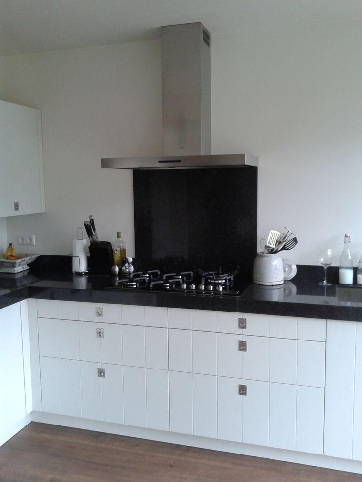 Witte Hoogglans Keuken op Pinterest - Moderne witte keukens, Moderne ...