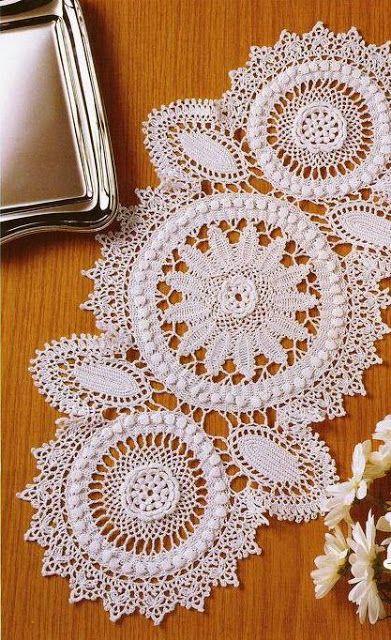 Delicate table Centerpiece Crochet Yarn Store | Crochet patterns free
