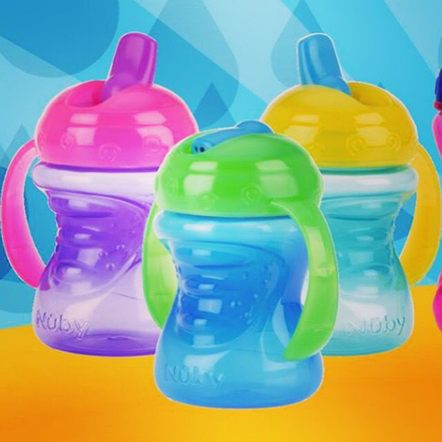 Nuby Free Flow First Cups #firstcup #sippycup