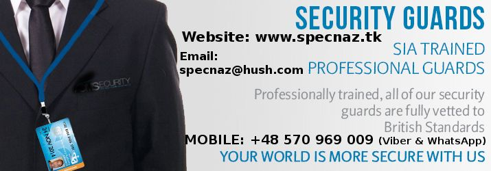 Call Our International Office: 0048-570-969-009 (Viber & WhatsApp)   For your convenience, our operatives speak fluent English, Polish, Russian, Bulgarian & Macedonian languages.  Our International Sales office is open 24/7  ◊Email: specnaz@hush.com