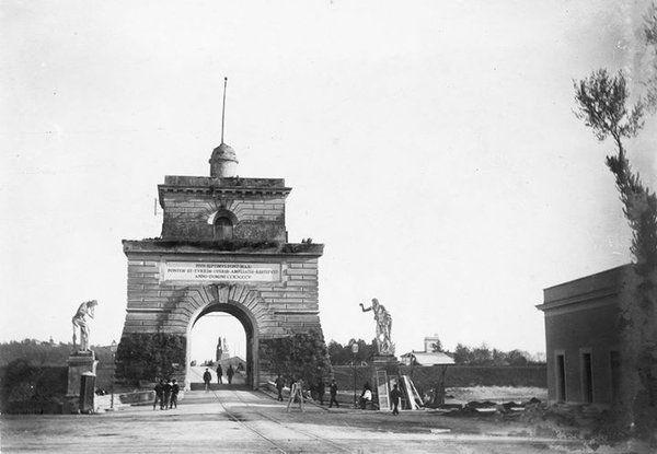 Ponte Milvio (1900 ca)