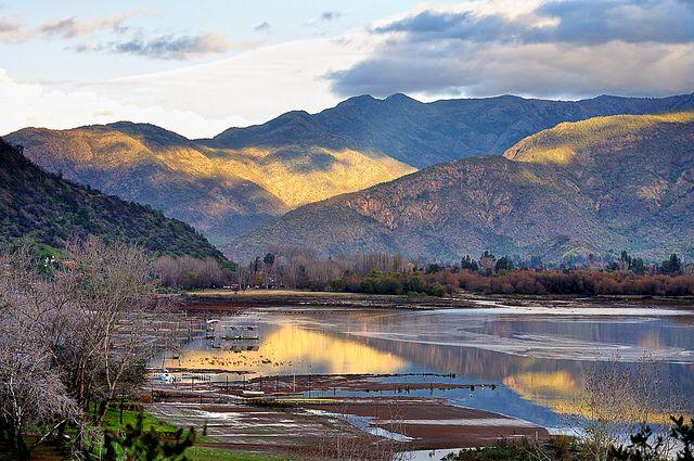 Laguna  Aculeo   Santiago  de Chile