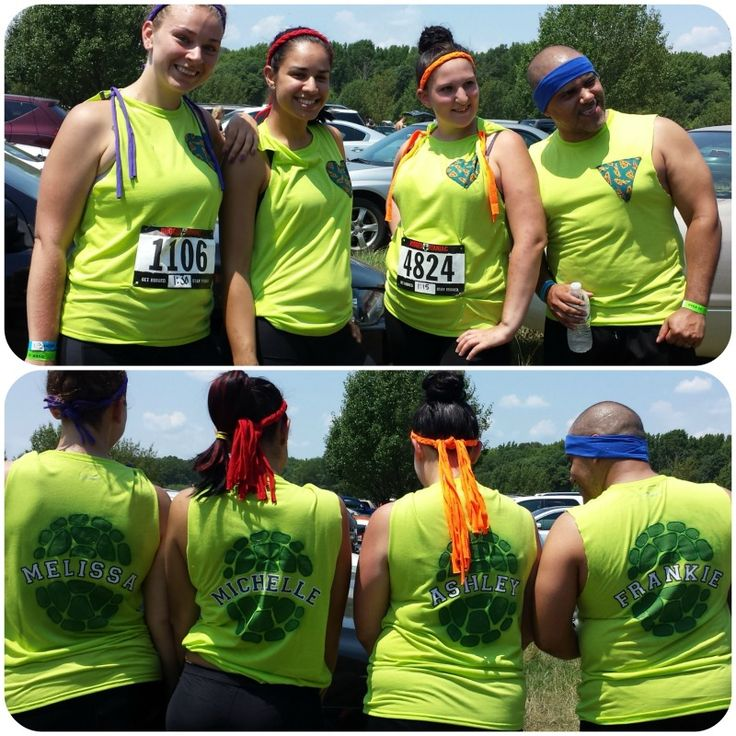 Team Shirts Michelle And I Made For Rugged Maniac 2014! #Team #NJ #