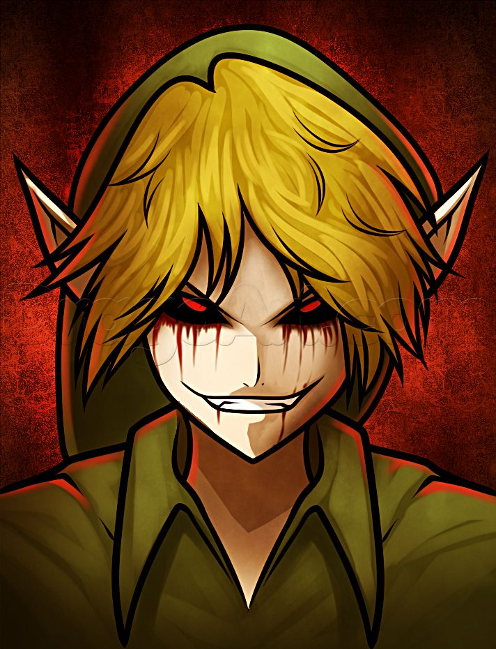 how to draw anime ben drowned