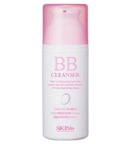 SKIN79 BB Cleanser with Skin Detox Effect: With its microscopic bubble particles delivering oxygen to the skin, the Bubble Cleanser customized for BB cream users allows deep cleansing of the skin, removing any dead skin cells and makeup residues without skin irritation. $19.99