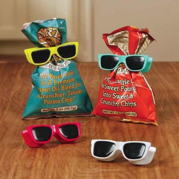 Sunglasses Bag Clips, $8
