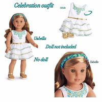 American Girl Lea Clark Celebration outfit Dress New In Box No Doll
