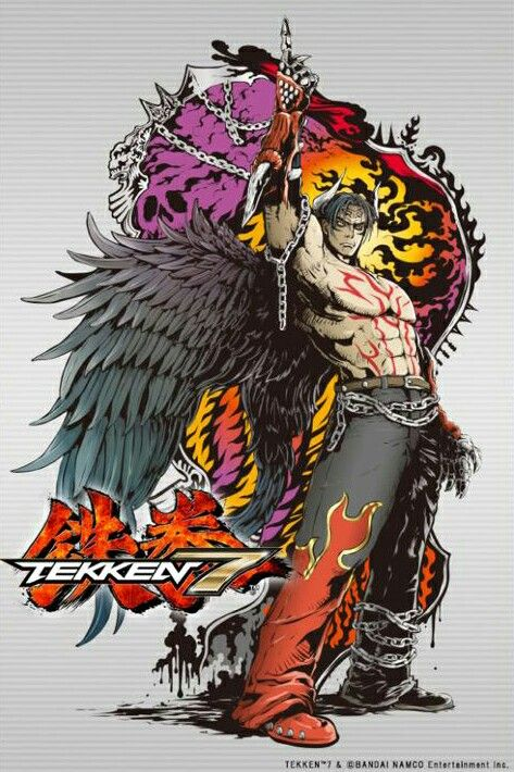 Tekken 7 Devil Jin panel by Jbstyle