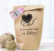 Kraft zak | handmade is better | Mr. Wonderful