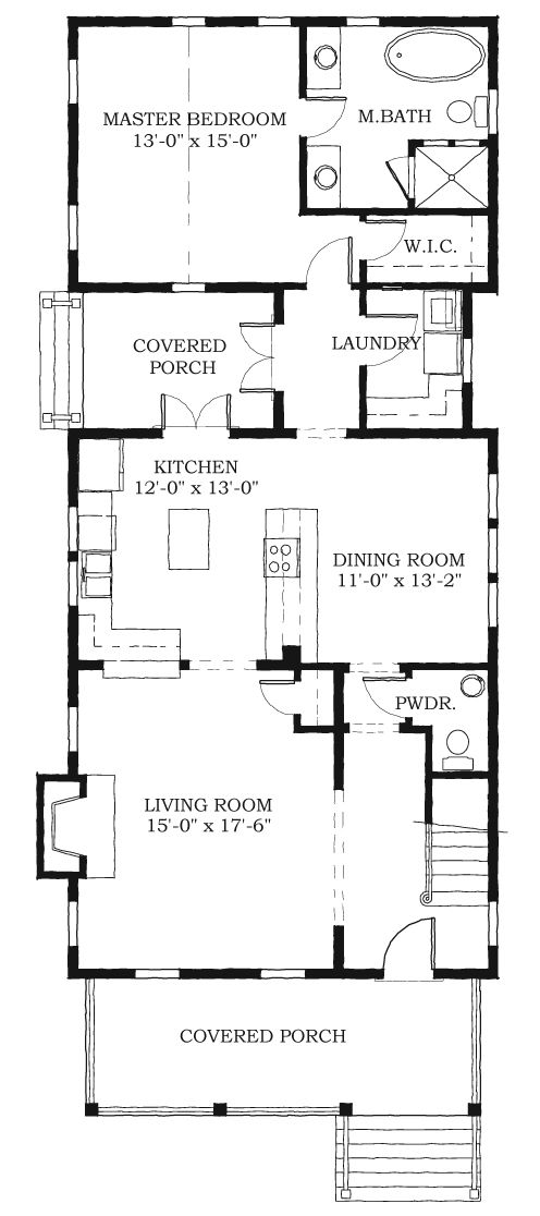 562 best simple floor plans images on pinterest floor for Simple southern house plans