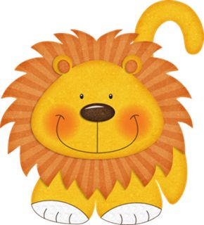 Cute lion clipart