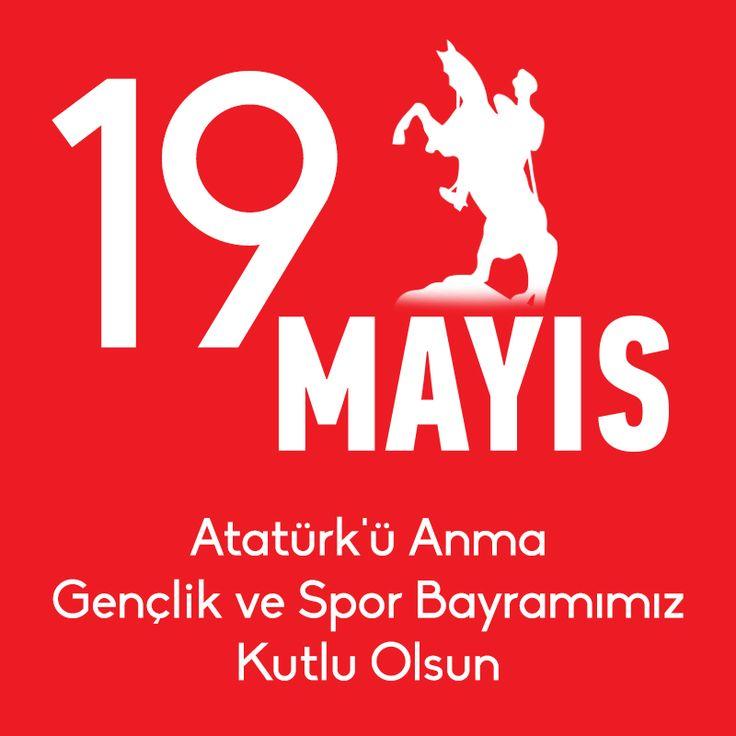 19 Mayıs Atatürk'ü Anma Gençlik ve Spor Bayramımız Kutlu Olsun. #bambiayakkabi