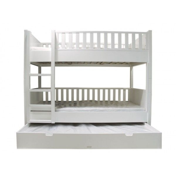 Letto+a+castello+completamente+realizzato+in+legno+della+serie+Combiflex+di+Bopita.+Il+letto,+ideale+per+salvare+gli+spazi,+può+essere+anche+facilmente+separato+in+due+letti+singoli.
