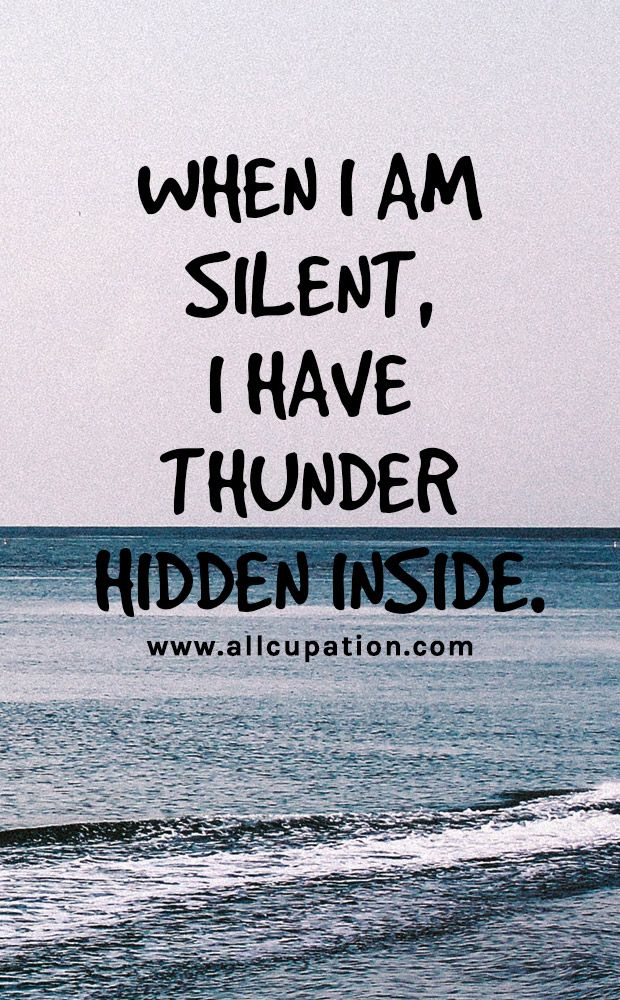 Really.  If I am still talking or raising my voice, there is hope.  It is the silence that will kill you.